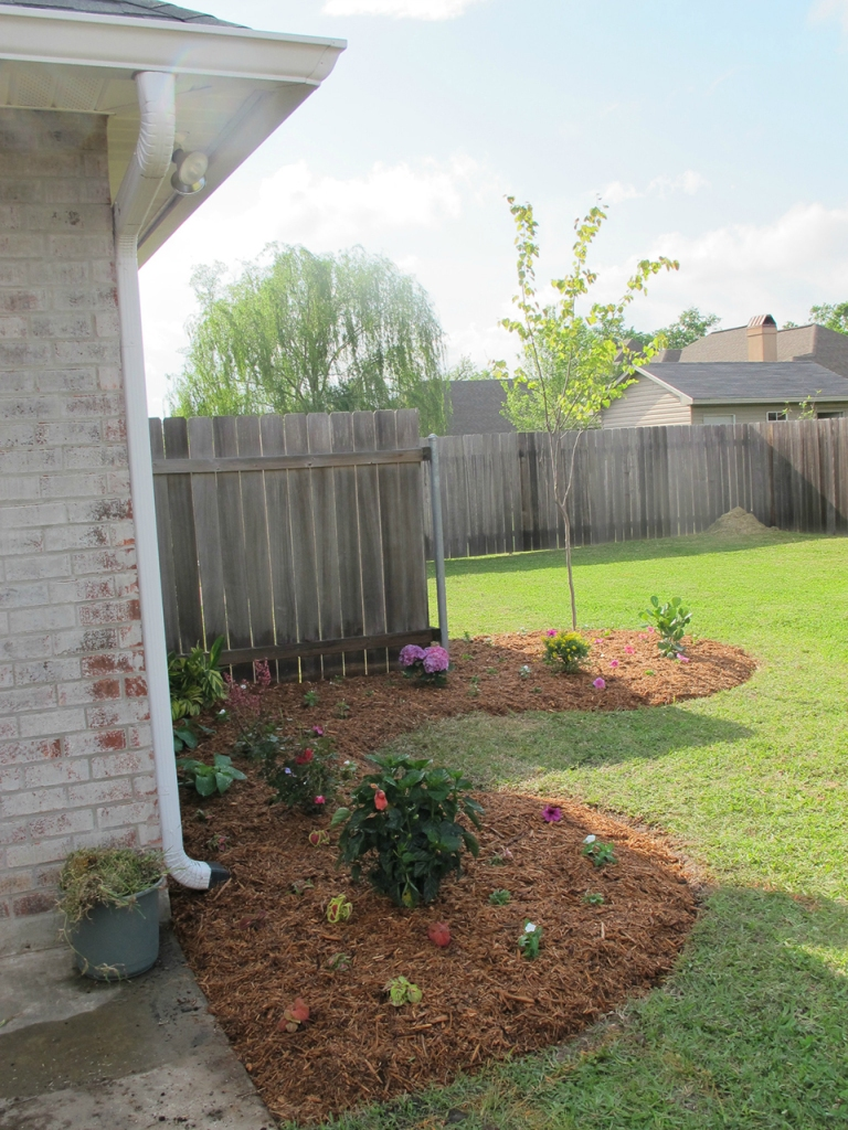 Backyard Landscaping | DIYstinctlyMade.com