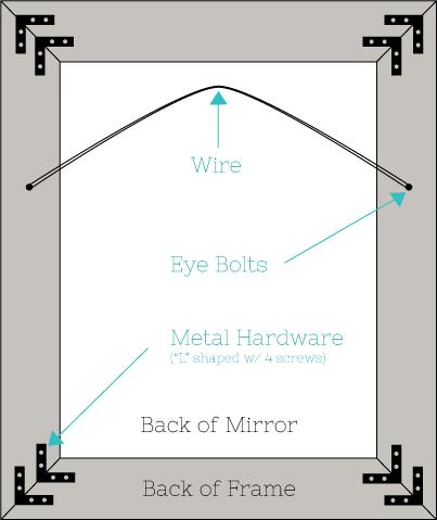 DIY Easy Framed Mirrors | DIYstinctlyMade.com