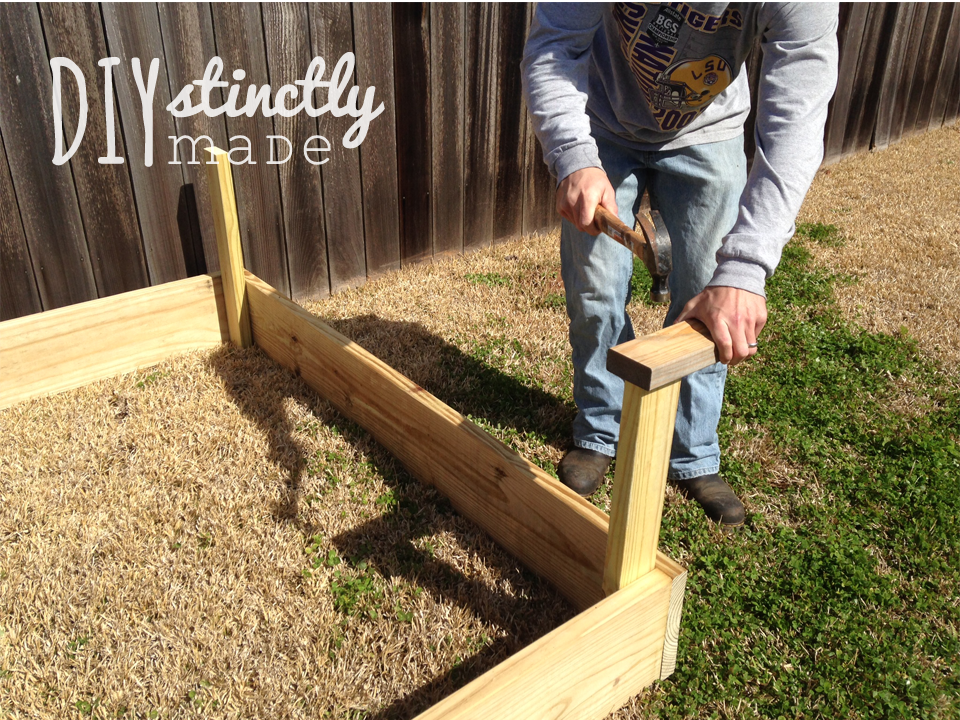 DIY Vegetable Garden DIYstinctly Made