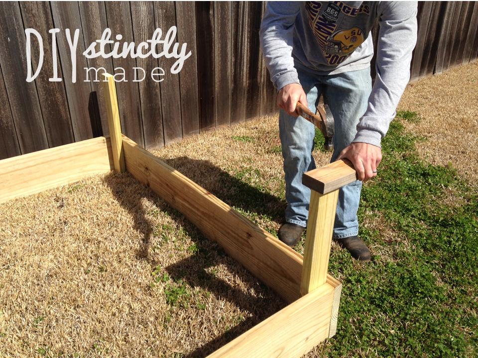 Diy Vegetable Garden Projects DIY DIYstinctly Made