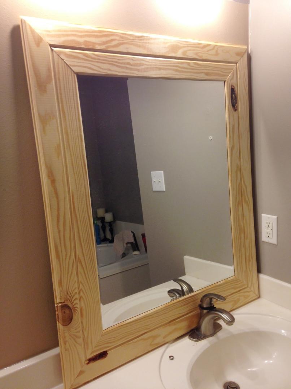 Diy Easy Framed Mirrors Diystinctlymade Com