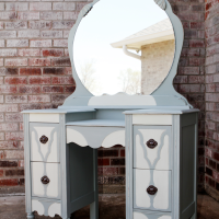 Refinished Antique Vanity