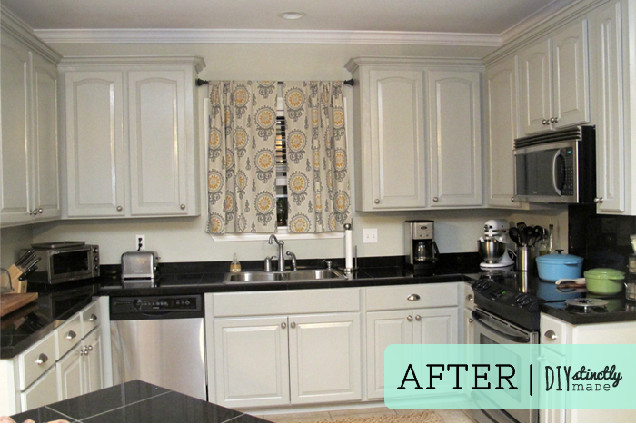 Painted Kitchen Cabinets painted kitchen cabinets – diystinctly made