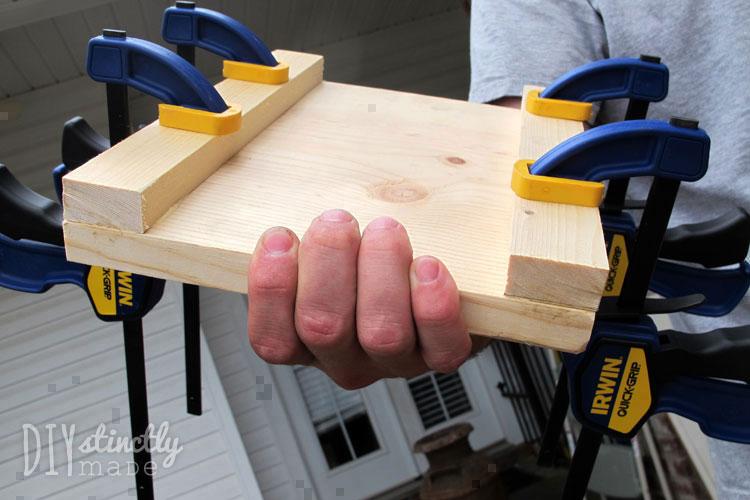 DIY Farmhouse Nightstands | DIYstinctlyMade.com