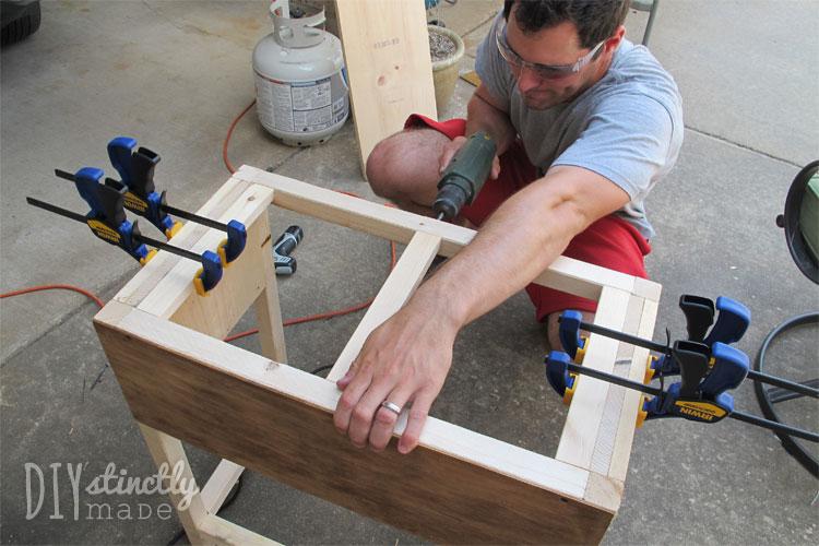 DIY Farmhouse Bedside Tables   DIYstinctlyMade.com