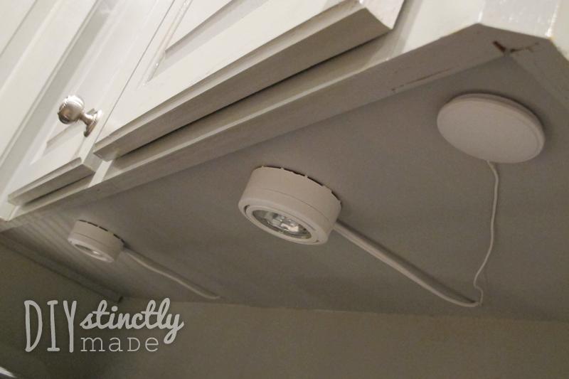 plug in cabinet lighting. recessed u0026 undercabinet lighting diystinctlymadecom plug in cabinet k