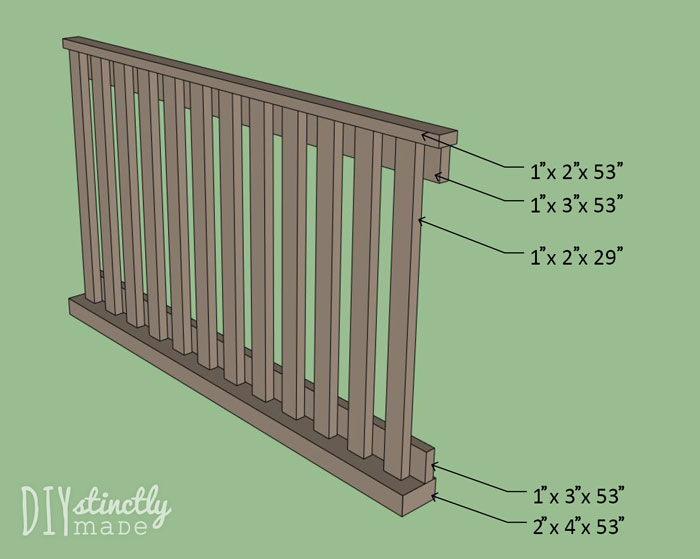 How to build your own DIY Crib | DIYstinctlyMade.com
