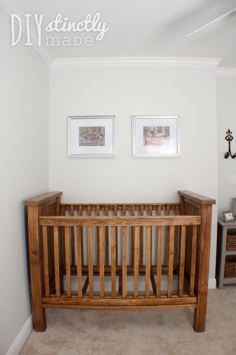 DIY Crib - DIYstinctly Made