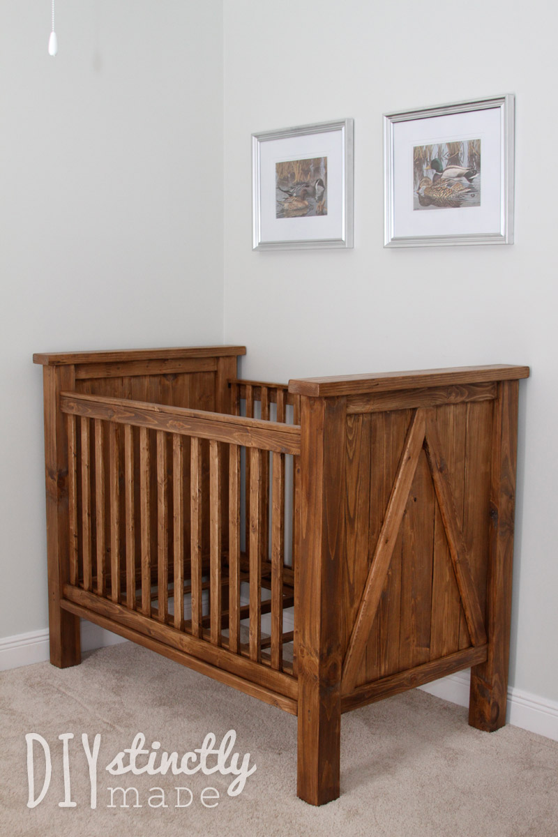 DIY Crib - DIYstinctly Made