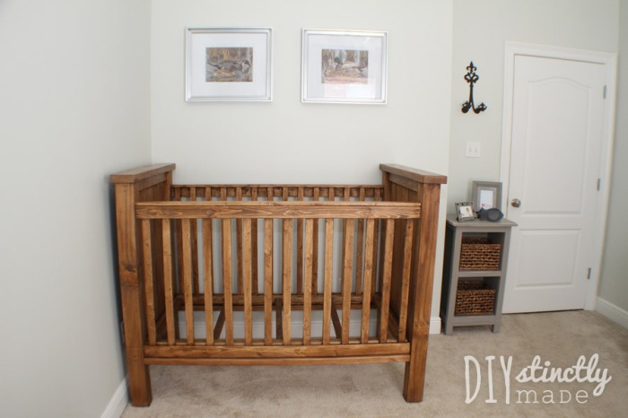 diy baby furniture. diy crib diystinctlymadecom diy baby furniture