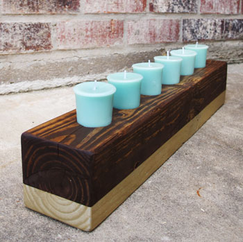 DIY Candle Holder | DIYstinctlyMade.com