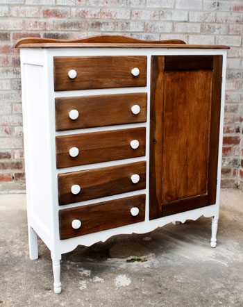 Child's Armoire | DIYstinctlyMade.com