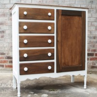 Refinished Child's Armoire