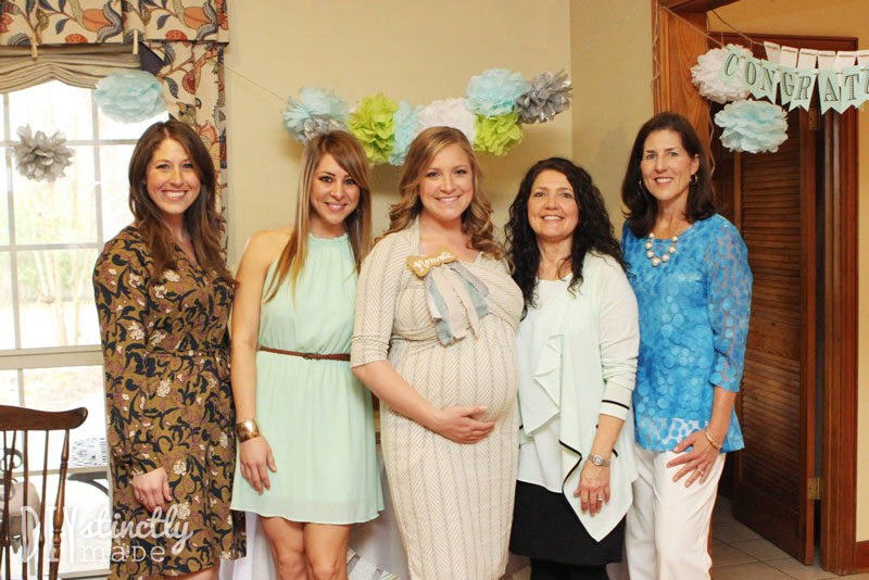 """Little Man"" Baby Shower 