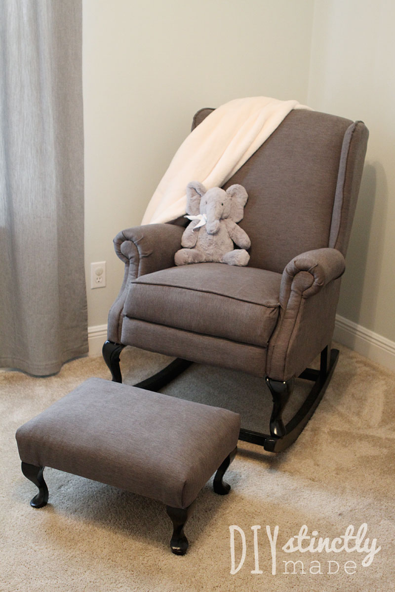 Diy pottery barn rocking chair diystinctly made for Chair chair chair